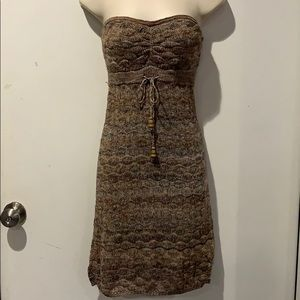 GUESS Strapless Sweater Dress-Small